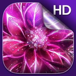 Luminous Flower Live Wallpaper