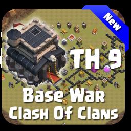 Maps COC TH 9 War Base