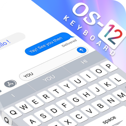 OS 12 keyboard 2019 : Theme and Wallpaper