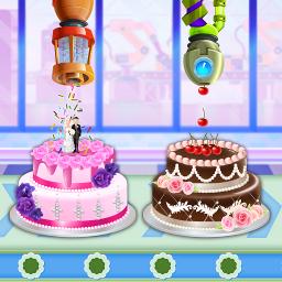 Wedding Party Cake Factory: Dessert Maker Games