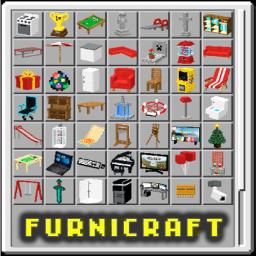 🪑 Furniture Furnicraft MCPE