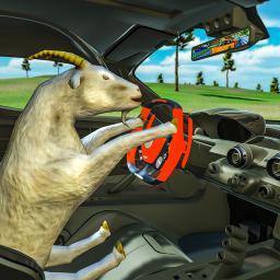 Crazy Goat Car Driving simulator