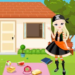 Pirate Girl Rescue Kavi Game-344