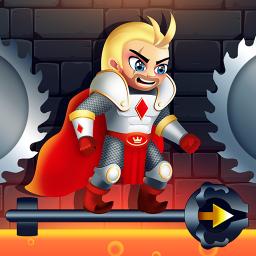 Rescue Knight - Hero Cut Puzzle & Easy Brain Test