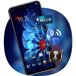 Colorful flower theme for galaxy G10 best launcher