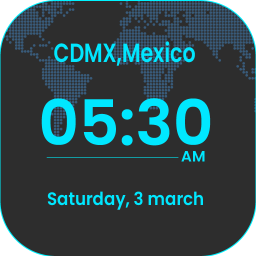 Global Clock-Watch All Countries Universal Time