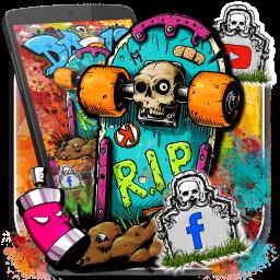 Graffiti Skate Themes HD Wallpapers 3D icons