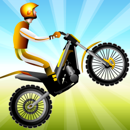 Moto Race -- physical dirt motorcycle racing game