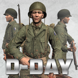 D-Day World War 2 Army Games: Ghost of WW2 Games