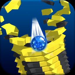 Stack Blast Ball 3D : Blast through platforms