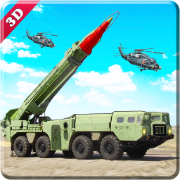Missile launcher US army truck 3D simulator 2018