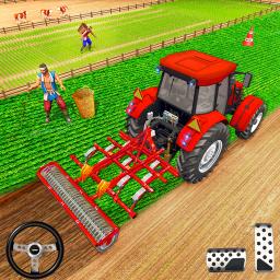 Farming Tractor Driver Simulator : Tractor Games