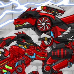 T-rex the highway - Combine! Dino Robot