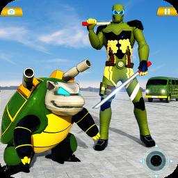 Flying Turtle Robot Car Transforming Robot Games