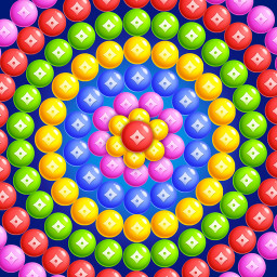 Bubble Shooter Game - Cooking Kitten Games