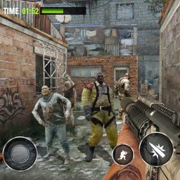 Zombie Invasion Dead Hunter Last Survival 3D
