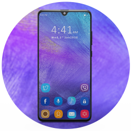 Launcher for Samsung A50: Theme for Galaxy A50