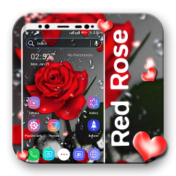 Red Rose Particle LiveWallpaper