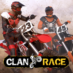 Clan Race: Xtreme Real Time PVP Motocross