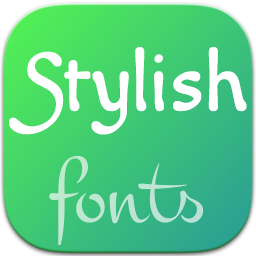 Stylish Fonts for Samsung