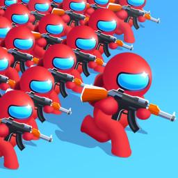 Gun Clash 3D: Imposter Battle