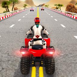 Quad ATV Traffic Racer