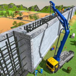 Border Security Wall Construction