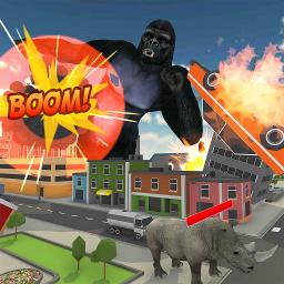 Gorilla City Rampage: Gorilla City Battle 2019