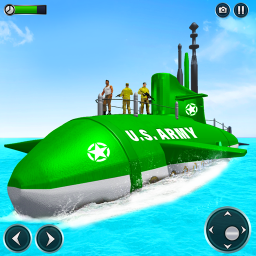 US Army Submarine Driving Military Transport Game