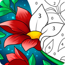 Paint by Number: Free Coloring Games - Color Book