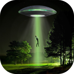 UFO In Photo – Alien Stickers For Pictures