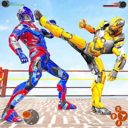 Ninja Robot Fighting Games – Robot Ring Fighting