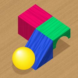 Woodish Brick & Ball Puzzles - Block Puzzle Game