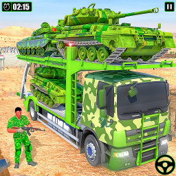 Army Vehicle Transporter Truck Simulator:Army Game