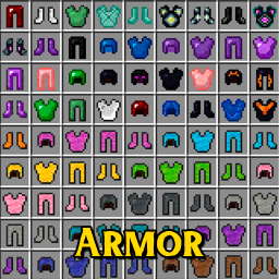 New armor mods for minecraft