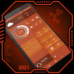Elegant Launcher 2 - App lock, Hitech Wallpaper