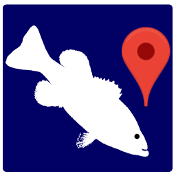 My fishing places: navigatior