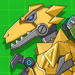 Robot Megalosaurus Dino War