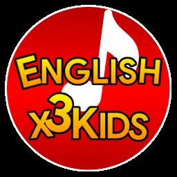 اپلیکیشن آموزش زبان انگلیسی کودکان English X3 Kids دمو
