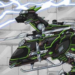 Ninja Velociraptor-Combine!Dino Robot:DinosaurGame