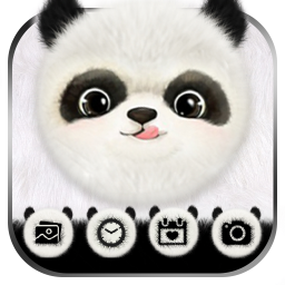 Cute Panda Launcher Theme Live HD Wallpapers