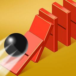 Roll a ball 3d - Domino Smash