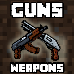 Guns and Weapons Mods for Minecraft PE