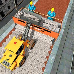 Bricks Highway: Road Construction Games 2019