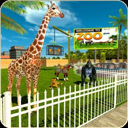 Animal Transport Zoo Construction Games
