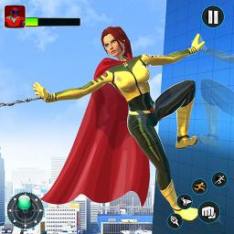 Light Speed Robot Hero - City Rescue Robot Games
