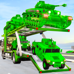 US Military vehicle Transport Truck