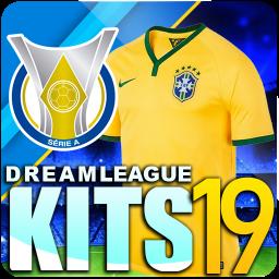 Dream league Brasileiro kits soccer