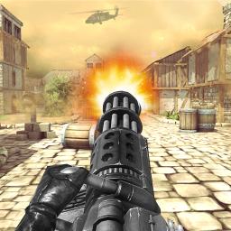 Gunner Battlefield: Fire Free Guns Game Simulator