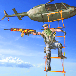 Helicopter sniper shooting games - fps air strike